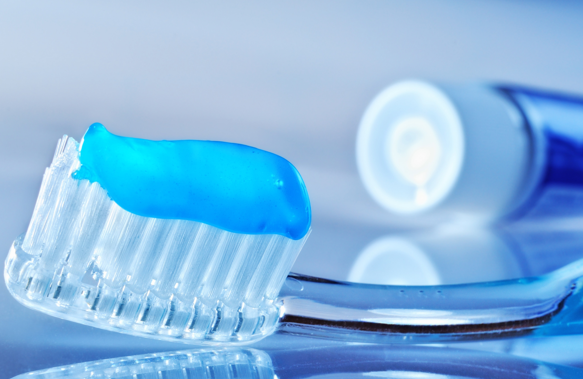 toothpaste using xanthan gum